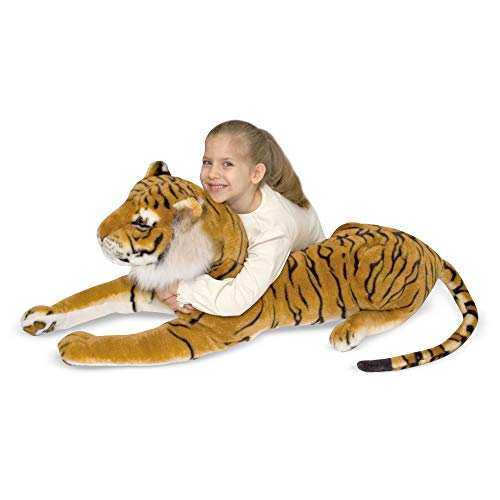 Melissa & Doug Tiger - Plush | Soft Toy | Animal | All Ages | Gift for Boy or Girl
