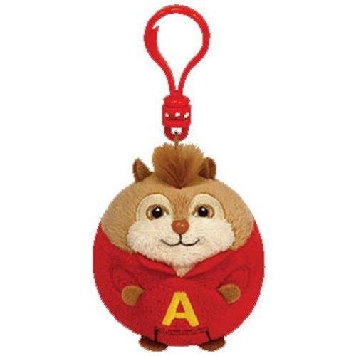 Ty Beanie Ballz Alvin Chipmunk - Clip by TY Beanie Ballz