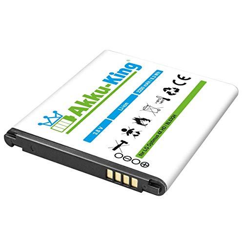 Akku-King Akku kompatibel mit LG BL-53QH Li-Ion - 2200mAh - für Optimus 4X HD, L9, LTE 2, P760, P769, P880, VS930