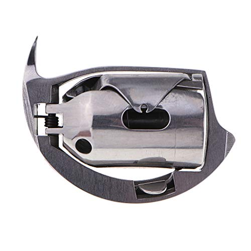 Bonarty Gancho de Lanzadera de Caja de Bobina para Máquina de Coser KSP204N para Durkopp Adler 203, 204