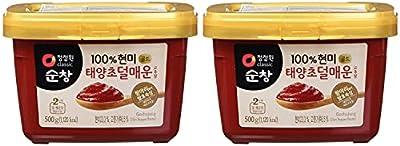 Chung Jung One Sunchang Gochujang 500 Gram Mild Spice Pack of 2