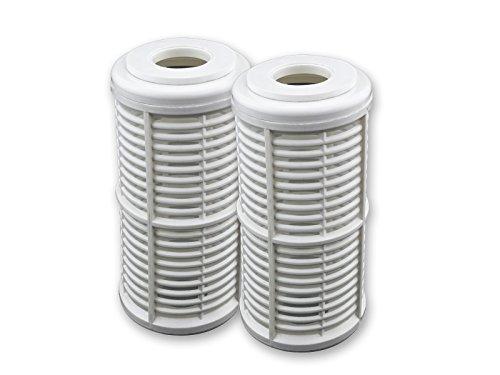 Filtereinsatz 5 Zoll (12,7 cm) Vorfilter für Gartenpumpen Hauswasserwerk Sandfilter waschbare Filterkartusche