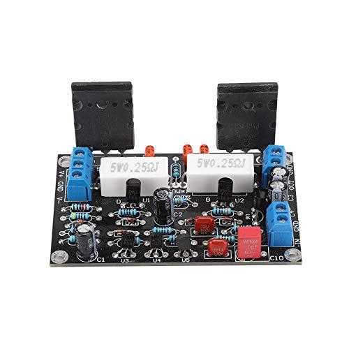 Wendry Leistungsverstärkerplatine, Hornschutzschaltung, Null-Drift-Ausgangsspannung stabil, Betriebsspannung Dual-DC für 2SC5200 + 2SA1943 Leistungsverstärkerplatine 100-W-Lautsprecherschutzplatine