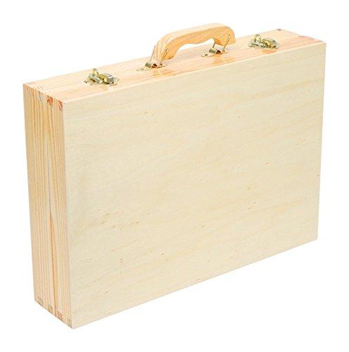 """Werkzeugkoffer """"Deluxe"""" aus Holz, mit 48 Teilen für kleine Heimwerker ab 8 Jahren, das passende Werkzeug für die notwendige Reparatur - 4"""