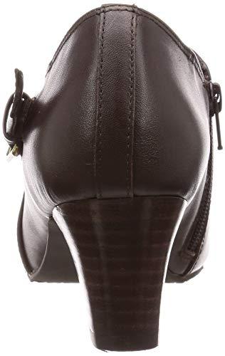 [イング]【イングプラス】ブーツIPSV98014レディースダークブラウン22.5cm