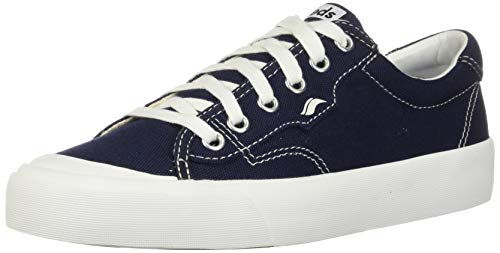Keds Women's Crew Kick 75 Sneaker, Navy Canvas, 7.5
