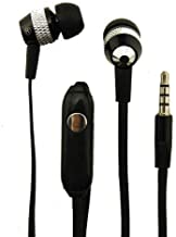 Super Bass Noise-Isolation Stereo Earbuds/Earphones for Samsung Galaxy Note 9, Note 8, S9, S9+, S8, J2 Core, A7 (2018) (Black) - w/Mic + MND Stylus