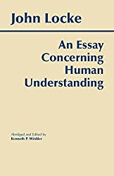 An Essay Concerning Human Understanding Book Cover