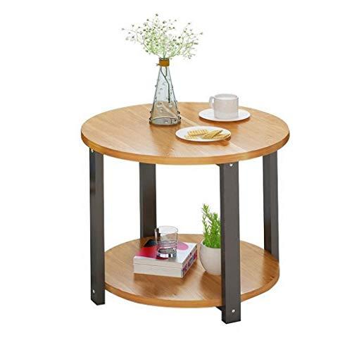 LYN bijzettafel, kleine ronde tafellamp bedrijfs-hoge koffie-wijn-hall-meubel, slaapkamer-nachtkastje