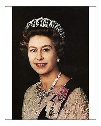 Impresión fotográfica de la reina Isabel II, 1972: Amazon.es: Hogar
