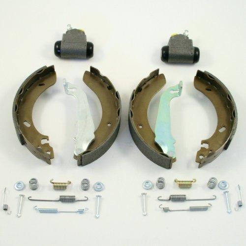 Bremsen/Bremsbacken + Radbremszylinder + Zubehör für hinten/für die Hinterachse