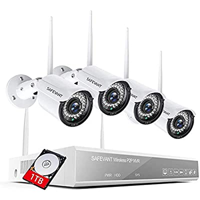 1080P Wireless Security Camera System,SAFEVANT ...