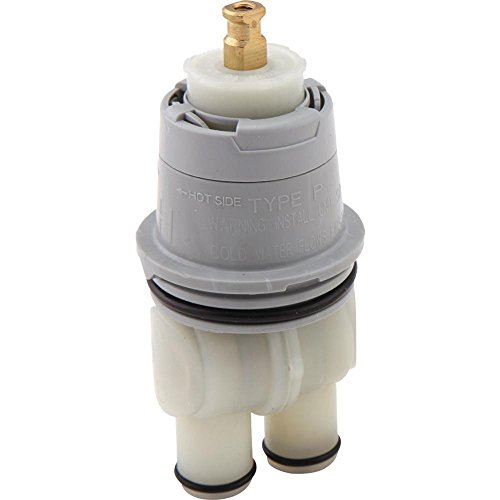 DELTA FAUCET RP46074 Universal Valve Cartridge Assembly- Multi-Choice Universal - 13/14 Series, White - 2 Pack