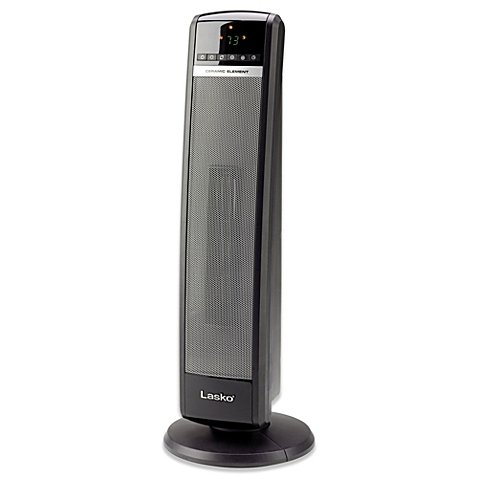 Lasko 30 in. 1,500 Watt Electric Portable Ceramic Tower Heater with Remote Control