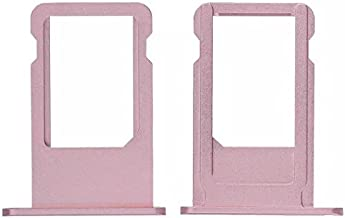 Goliton 1PCS SIM Card Tray Slot Holder Replacement Part for iPhone 6S 4.7 inch (Rose Gold)