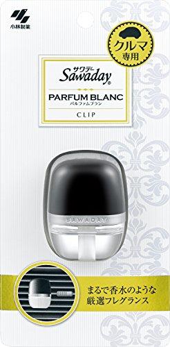 サワデー 車用消臭芳香剤 クリップタイプ パルファムブランの香り 6ml