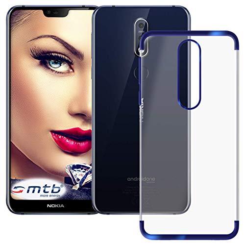 mtb More Energy® Funda TPU Elegance para Nokia 7.1 Dual SIM (5.84'')...