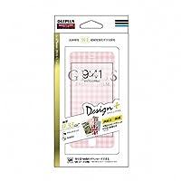 LEPLUS iPhone7 4.7インチ ガラスフィルム 「GLASS PREMIUM FILM(グラス プレミアムフィルム)」 全画面保護 Design+(デザインプラス) ギンガムチェック 0.33mm