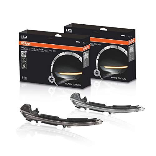 Unsere Produktempfehlung für den Seat Leon (Typ 5F): Voll dynamische OSRAM LED Spiegelblinker (Black Edition)