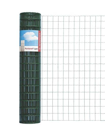 GAH-Alberts 053043 Pantanet Basic - Enrejado (RAL 6073, altura de 1200 mm, 25 m, grosor de 2,2/2,2 mm, anchura de malla de 76 x 63 mm), color verde [Importado de Alemania]