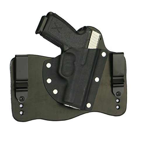 FoxX Holsters Kahr CM9, CW9, P9, PM9 in The Waist Band Hybrid Holster (Black)