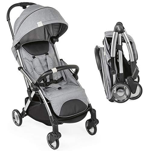 Carrinho de bebê Chicco Goody Cool grey, Chicco, Cinza Claro