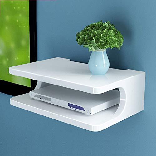 ZHANGYY Wall-Mounted Floating Shelf TV Cabinet Shelf TV Console Router Shelf DVD...