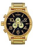 Nixon Herren Chronograph Quarz Uhr mit Edelstahl Armband A083-510-00