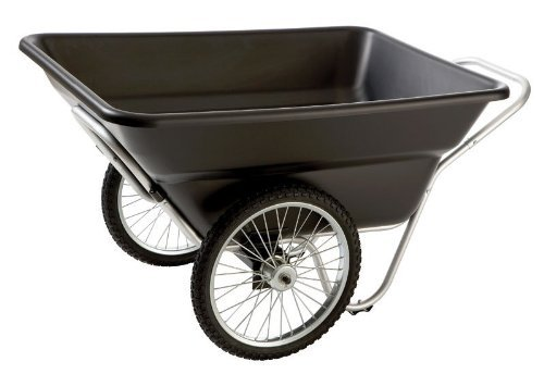 Contractor Grade HDPE Tub Utility Cart Size: 28' H x 32' W x 56' D
