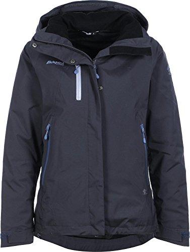 Bergans Damen Flya Insulated Jacke, Night Blue/Dusty Blue/Dusty Light Blue, S