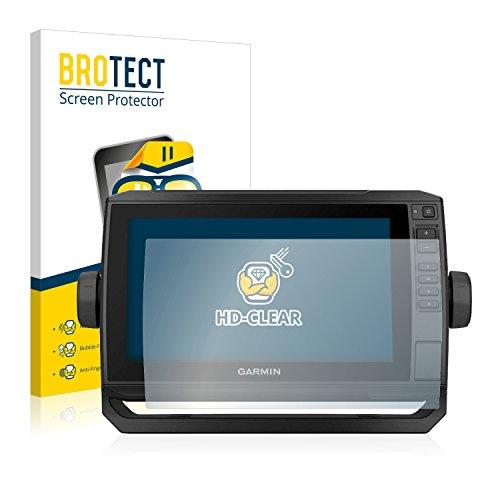 BROTECT Protector Pantalla Compatible con Garmin echoMAP Chirp Plus 92sv Protector Transparente (2 Unidades) Anti-Huellas