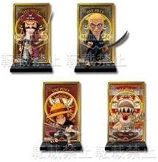 All four lottery one piece ~ Change of Generation ~ F Award Roger Pirates card stand figure most (japan import)