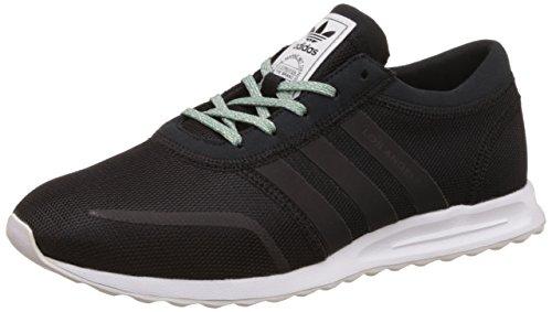adidas Los Angeles, Zapatillas Unisex niños, Negro (Core Black/Core Black/FTWR White), 37 1/3 EU