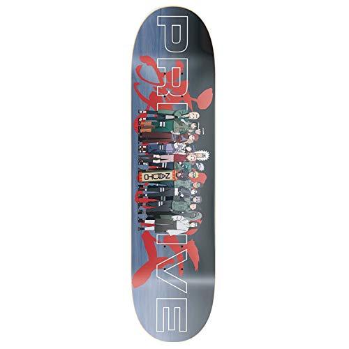 Primitive Naruto Leaf Village Skateboard Deck 8.25 inch Multi