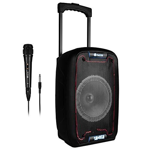 NGS 30W Built IN Battery Trolley Speaker - BT/USB/TF/A