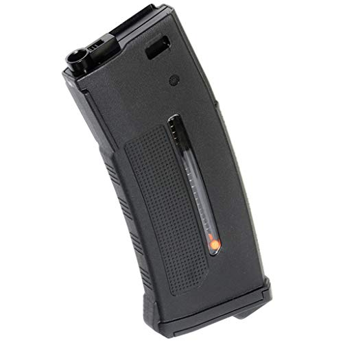 Airsoft PTS 250rd EPM1 Mag Magazin - Pistola de airsoft (para APS, D-Boys, Classic Army, WE, SRC, JG, E&C, CYMA, KWA G&P VFC Tokyo Marui M4 AEG), color negro
