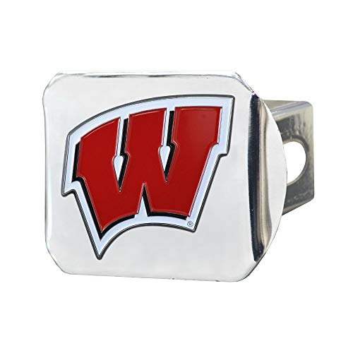 Preisvergleich Produktbild SLS Wisconsin Dachs 3D-Emblem,  Chrom