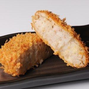 蓮根コロッケ 3個×5セット 小田商店 栽培からこだわったレンコンをすりおろしてコロッケにした逸品 もちもちクリーミーな食感は一度食べたらやみつき お弁当にもどうぞ