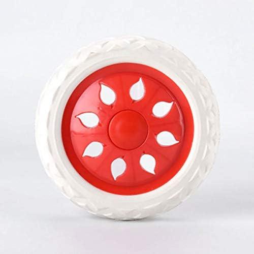 ruedas para carrito de compras ruedas de viaje tooloflife 2 ruedas azules con dise/ño de ruedas de pl/ástico con n/úcleo de espuma para carrito de la compra