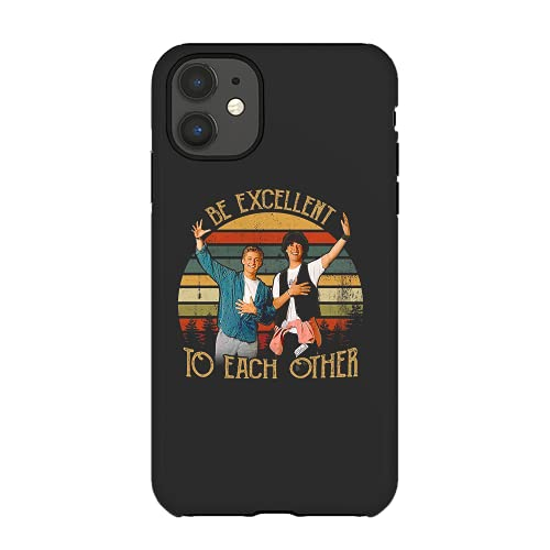 Be Excellent To Each Other Vintage Bill And Teds Excellent Adventure Funny Coffee Mug Black Cases Custom 7005