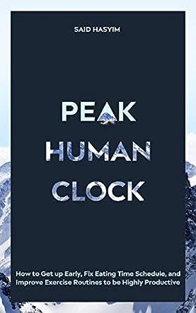 Peak Human Clock