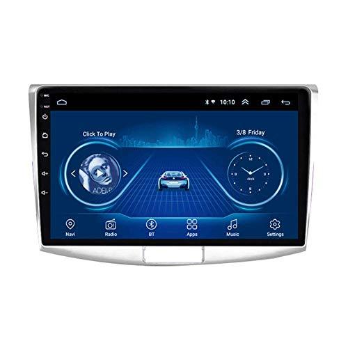 KLL Android 9.1 Auto Radio Satellitari 9 Pollici di Lettore Multimediale per Volkswagen Passat 7 2010-2015 Autoradio con WiFi Bluetooth FM AM Controllo del Volante(Otto CoreWiFi 4+64G)