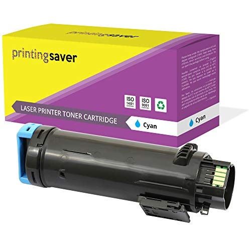 PRINTING SAVER Compatible Cyan Toner Cartridge 593-BBSD for Dell H625CDW H825CDW S2825CDN
