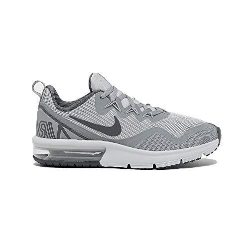 Nike Air MAX Fury (GS), Zapatillas de Running Niño, Gris (Wolf Grey/Dark Grey-005), 36 EU