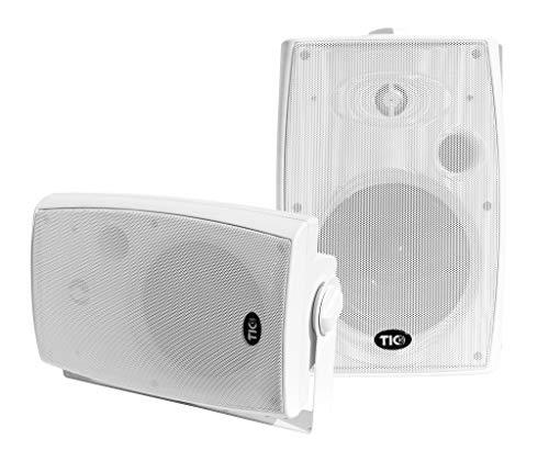 TIC WBP10 6.5' WiFi(AirPlay2)&Bluetooth5.0 Patio Speaker (Pair/White)