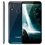 CUBOT J7 Smartphone Libre sin Contrato Android 9.0 3G 5.7 Pulgadas 18:9 Full-Screen Quad-Core 2GB RAM 16GB ROM Dual SIM/Dual Cámara/Face ID/GPS 2800mAh WiFi Bluetooth CUBOT Oficial (Aurora)