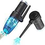 Keyboard Vacuum,Patent-Pending Hurinan USB Computer Cleaners, Powerful Suction Portable Mini Vacuum Cleaner for Hair, Desk, Laptop, Piano, Car,Dust, Pet House