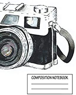 """Notebook: Vintage Camera , Journal for Writing, Size 6"""" x 9"""", 164 Pages"""