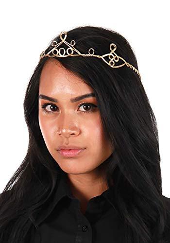 Gold Circlet Princess Crown Renaissance Elf Cosplay Headpiece