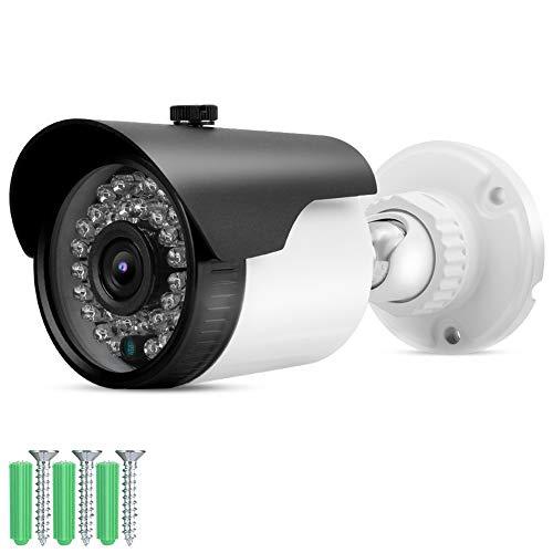 zcyg Cámara Cámara de vigilancia Cámara de Seguridad Cámara De Seguridad, 4-IN-1 AHD/TVI/CVI/CVBS 1080P 2MP HD CCTV Hybrid Security Security Cámara IR-Cut (NTSC)